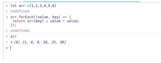 前端开发:JS中Map和ForEach的区别